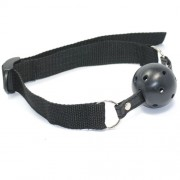 Simple Black Ball Gag