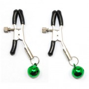 Green Bell Nipple Clamps